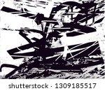 distressed background in black... | Shutterstock . vector #1309185517