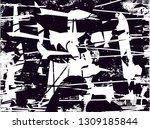 distressed background in black... | Shutterstock . vector #1309185844