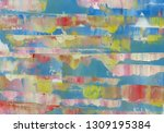 abstract painting background....   Shutterstock . vector #1309195384