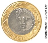 One Brazilian Real Coin...