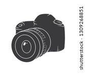 camera vector illustration.... | Shutterstock .eps vector #1309268851