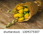 a bouquet of flowers for the... | Shutterstock . vector #1309275307