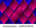 illustration pink and blue... | Shutterstock . vector #1309278544