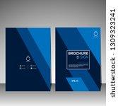 brochure template. magazine.... | Shutterstock .eps vector #1309323241
