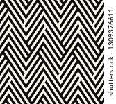 vector seamless pattern. modern ... | Shutterstock .eps vector #1309376611