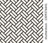 geometric seamless pattern.... | Shutterstock .eps vector #1309376641