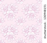 seamless floral background ... | Shutterstock . vector #130948151
