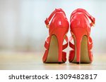 pair of fashionable high heel... | Shutterstock . vector #1309482817
