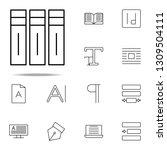 editorial  volumes icon....