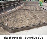 road paving work | Shutterstock . vector #1309506661