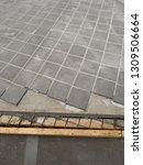 road paving work | Shutterstock . vector #1309506664