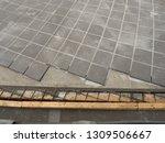 road paving work | Shutterstock . vector #1309506667