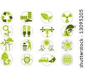 energy saving and environmental ...   Shutterstock .eps vector #13095205