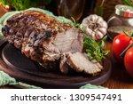 Roasted Pork Loin With Herbs O...