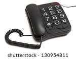 Black Telephone With Big...