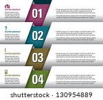 modern vector design template.... | Shutterstock .eps vector #130954889