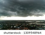 the atmosphere before storm and ... | Shutterstock . vector #1309548964
