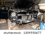 disassembled old russian...   Shutterstock . vector #1309550677