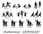enrichment programs for... | Shutterstock .eps vector #1309556107