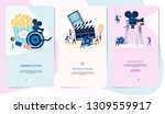 making movie  video production... | Shutterstock .eps vector #1309559917