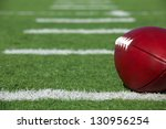 pro american football on the... | Shutterstock . vector #130956254