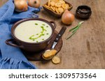 traditional cream vegetable... | Shutterstock . vector #1309573564