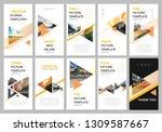 creative social networks... | Shutterstock .eps vector #1309587667
