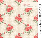Rose Classic Seamless Floral...
