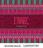 ethnic textile seamless... | Shutterstock .eps vector #130959749