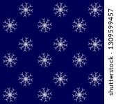 snow storm pattern background... | Shutterstock . vector #1309599457