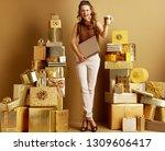 full length portrait of happy... | Shutterstock . vector #1309606417