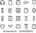 bold stroke vector icon set  ... | Shutterstock .eps vector #1309638541