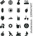 solid black vector icon set  ...   Shutterstock .eps vector #1309647697
