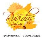 guru ravidas jayanti...   Shutterstock .eps vector #1309689301