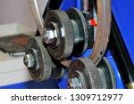 industrial machine for bending... | Shutterstock . vector #1309712977