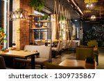 interior of contemporary cozy... | Shutterstock . vector #1309735867