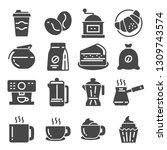 coffee  coffee house  coffee... | Shutterstock .eps vector #1309743574
