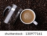 coffee | Shutterstock . vector #130977161