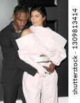 Small photo of LOS ANGELES - FEB 10: Travis Scott, Kylie Jenner at the 61st Grammy Awards at the Staples Center on February 10, 2019 in Los Angeles, CA