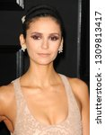 Small photo of LOS ANGELES - FEB 10: Nina Dobrev at the 61st Grammy Awards at the Staples Center on February 10, 2019 in Los Angeles, CA