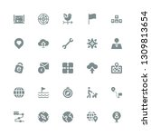 direction icon set. collection...   Shutterstock .eps vector #1309813654