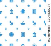 indoor icons pattern seamless... | Shutterstock .eps vector #1309830274