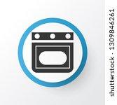 oven icon symbol. premium... | Shutterstock .eps vector #1309846261