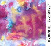 abstract smoky seamless... | Shutterstock . vector #1309856377