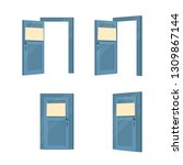 Open And Closed Doors With...