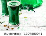 happy st patricks day... | Shutterstock . vector #1309880041