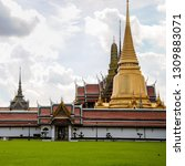 view of the grand palace and...   Shutterstock . vector #1309883071