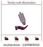 light bulb energy saving ...   Shutterstock .eps vector #1309885024