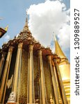 view of the grand palace and...   Shutterstock . vector #1309889527