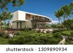 3d rendering of modern cozy... | Shutterstock . vector #1309890934